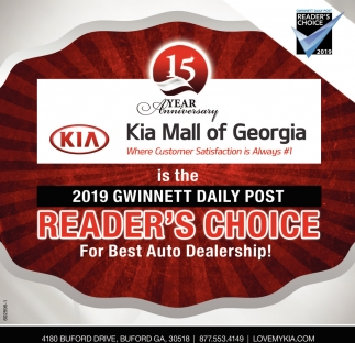 Reader's Choice for Best Auto Dealership