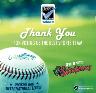 Thank You for Voting Us the Best Sports Team