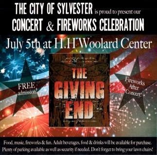 Concert & Fireworks Celebration