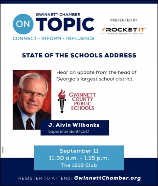 State of the Schools Address