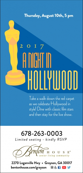 2017 A Night in Hollywood