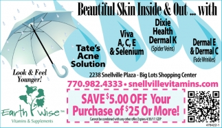 Beautiful Skin Inside & Out...
