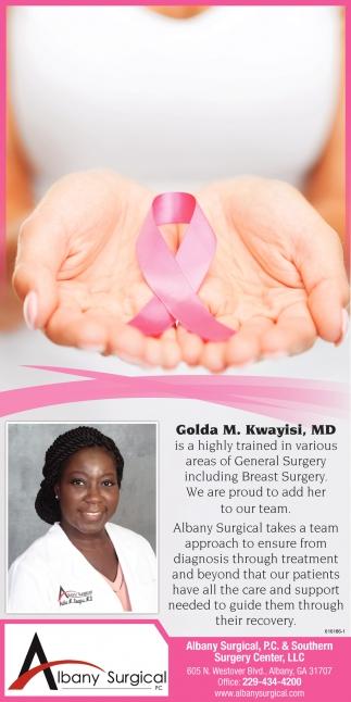 Welcome Dr. Kwayisi