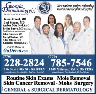 Routine Skin Exams