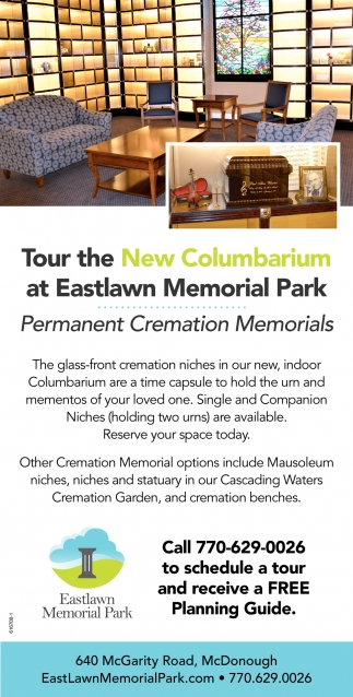 New Columbarium