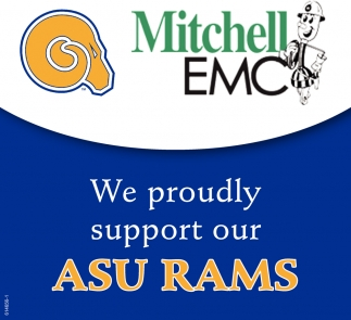We Proudly Support Our ASU RAMS