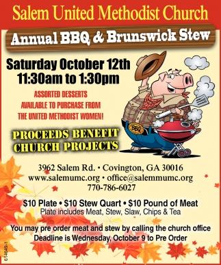 Annual BBQ & Brunswick Stew