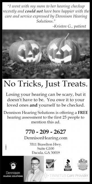 No Tricks, Just Treats