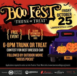 Boo Fest Trunk or Treat