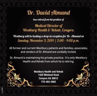 Dr. David Almand