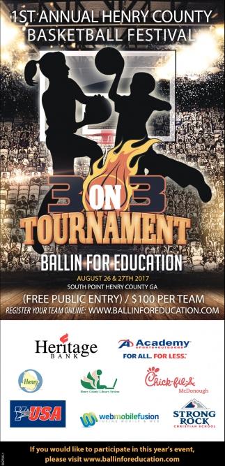 1st Annual Henry County Basketball Festival