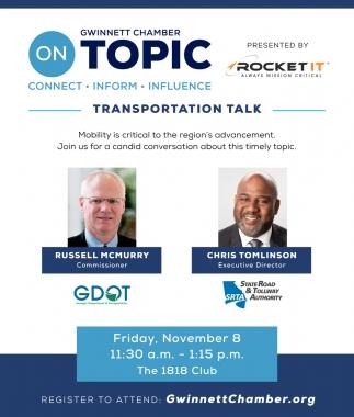 Transportation Talk