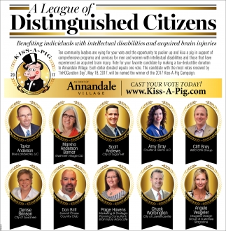 A League of Distinguished Citizens