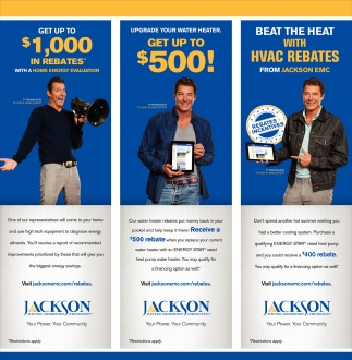 Get up to $1,000 in Rebates