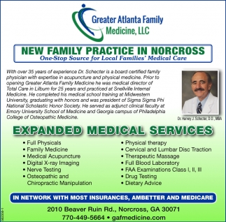 New Family Practice In Norcross