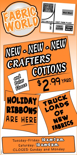 Cew Crafters Cottons