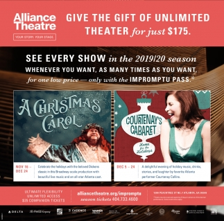 Give the Gift of Unlimited Theater