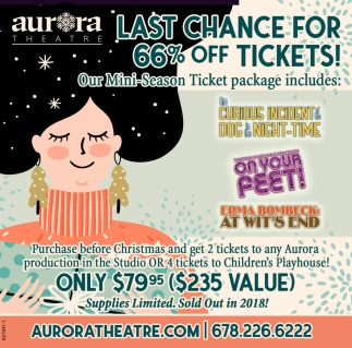 66% OFF Tickets