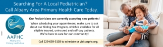 Call Albany Area Primary Health Care Today