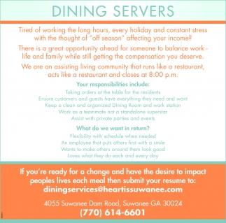 Dining Servers