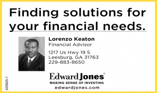 Finding Solutions for Your Financial Needs