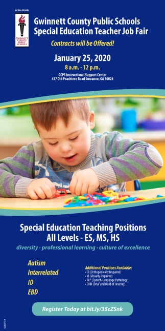 Special Education Teacher Job Fair