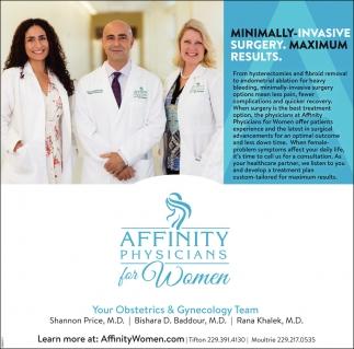 Minimimally-Invasive Surgery. Maximum Results