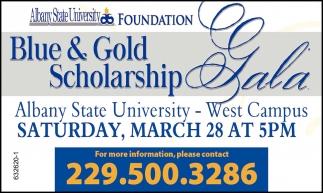 Blue & Gold Scholarship Gala