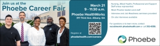Phoebe Career Fair