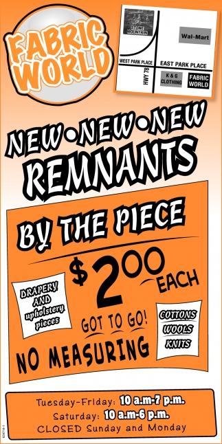 New Remants