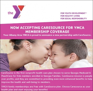 Now Accepting Caresource for YMCA Membership Coverage