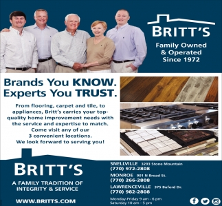 Brands You Know Experts You Trust