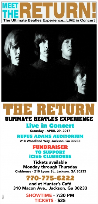 The Ultimate Beatles Experience... LIVE in concert!