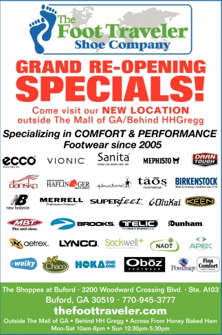 Grand Re-Opening Specials!