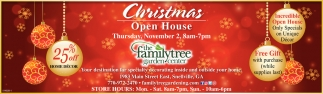 Christmas Open House, The Family Tree Garden Center, Snellville, GA