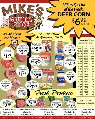 SPECIAL: Deer Corn