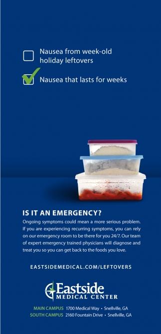 Is it an emergency?