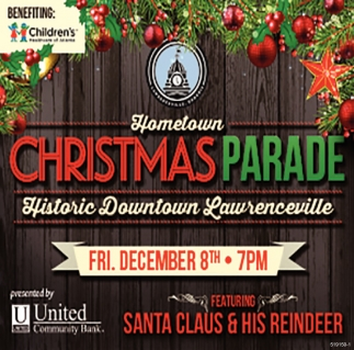 Hometown Christmas Parade, Historic Downtown Lawrenceville