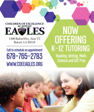 Now offering K-12 Tutoring