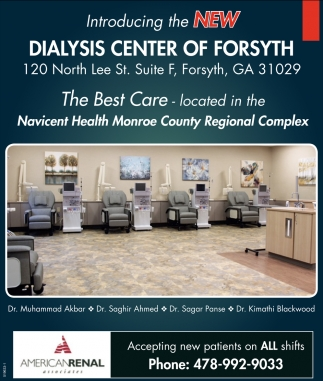 Introducing the New Dialysis Center of Forsyth