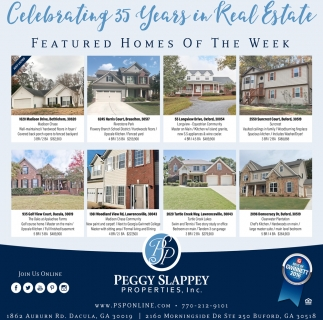 Celebrating 35 years in Real Estate