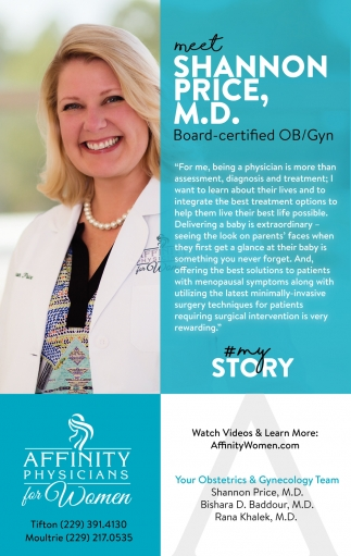 Meet Shannon Price, M.D.